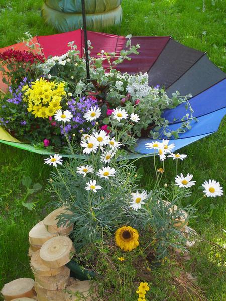 садовый декор своими руками из подручных материалов