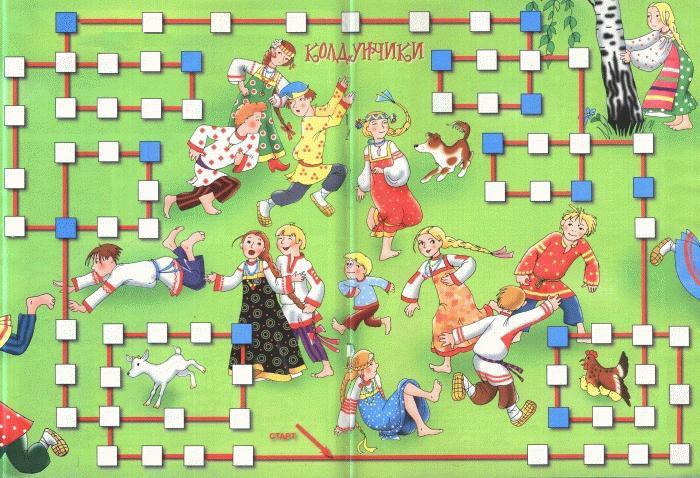 русские народные игры название и правила короткие