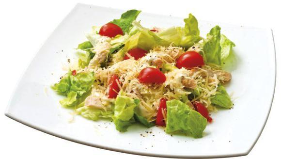 Калорийность салат цезарь