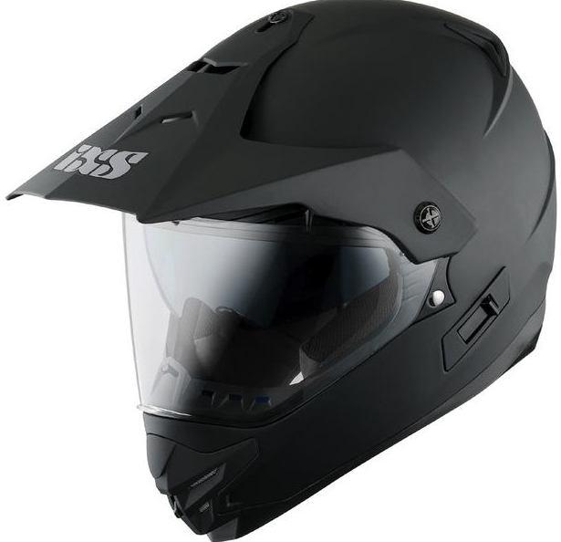 ixs кроссовый шлем с визором hx207