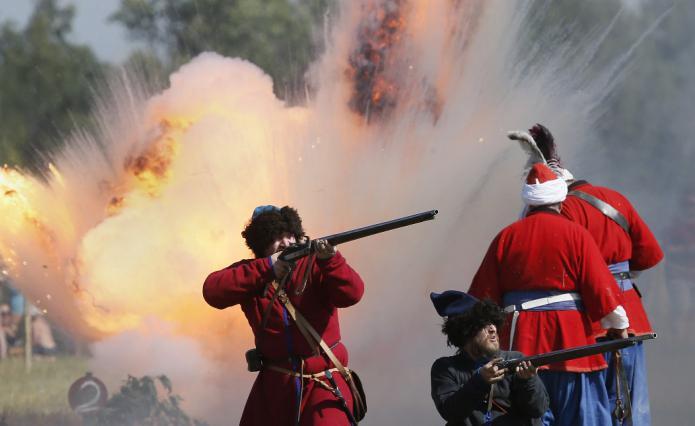 битва у деревни молоди в 1572 году