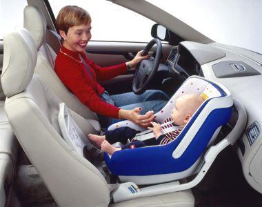 возить ребенка на переднем сиденье