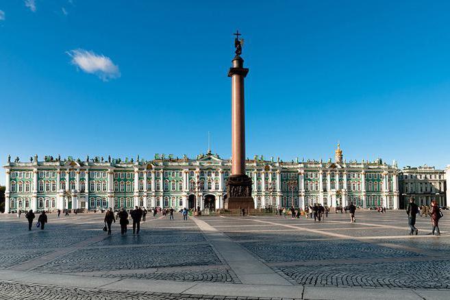 александровская колонна в санкт-петербурге