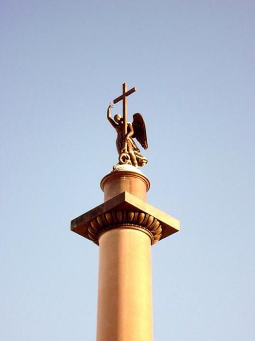 александровская колонна в санкт-петербурге интересные факты