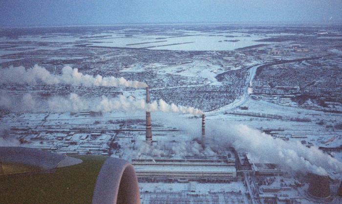 самые промышленные города россии