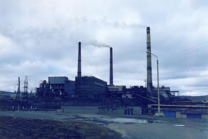 северный город Норильск