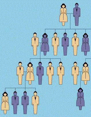 доминантные и рецессивные гены