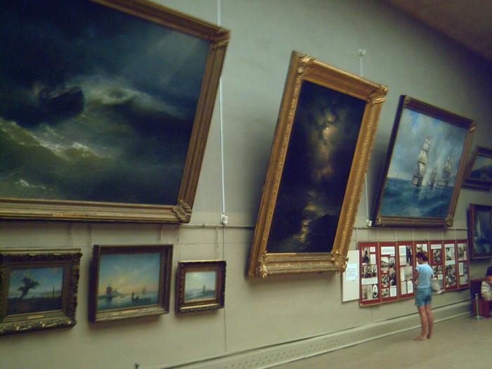 музей айвазовского в феодосии картины