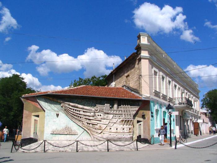 дом музей айвазовского в феодосии