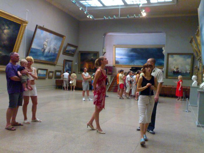 музей айвазовского в феодосии фото