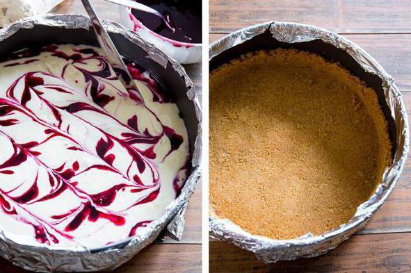 Рецепт черничного пирога из песочного теста с