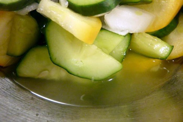 зимний салат из огурцов без стерилизации