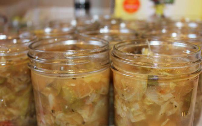 зимний салат из огурцов с горчицей