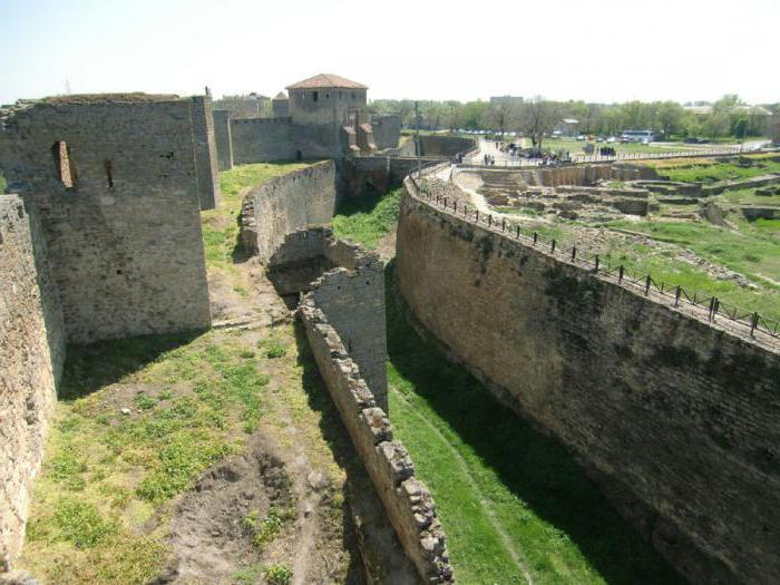 Аккерманская крепость описание