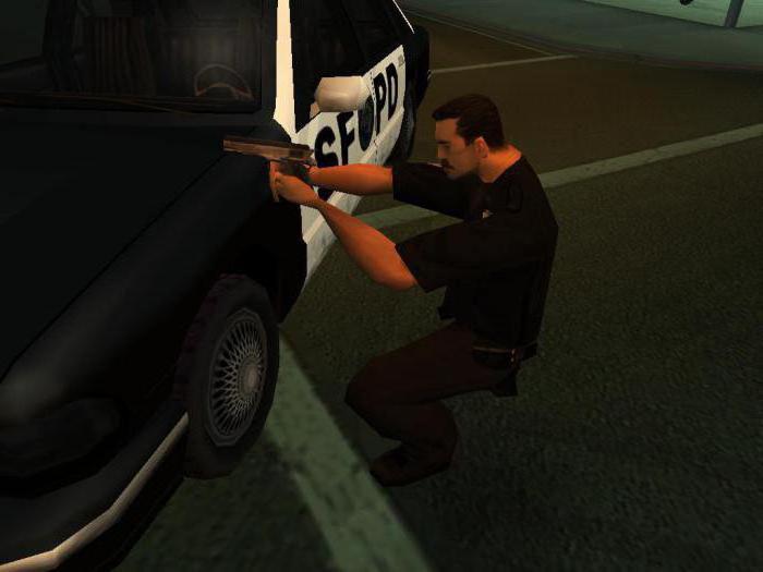 как в гта 5 ловить преступников на полицейской машине
