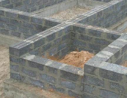 стены из керамзитоблока