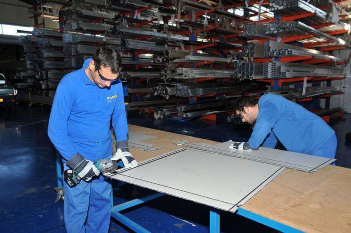 производство композитных панелей