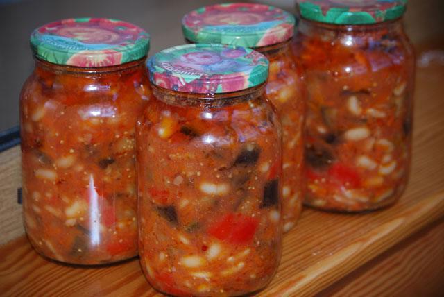 Баклажаны по гречески на зиму рецепт пошагово