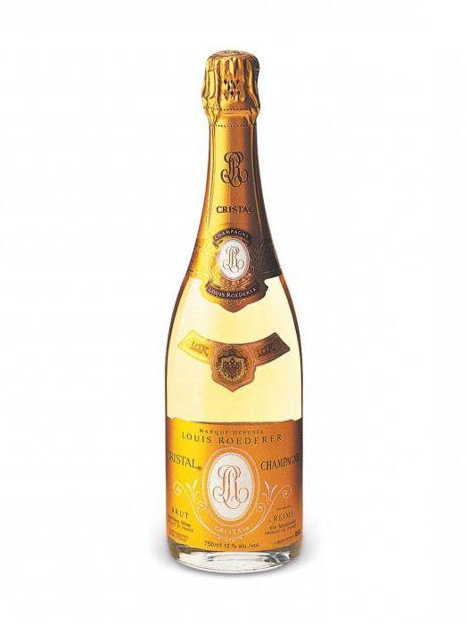 шампанское crystal