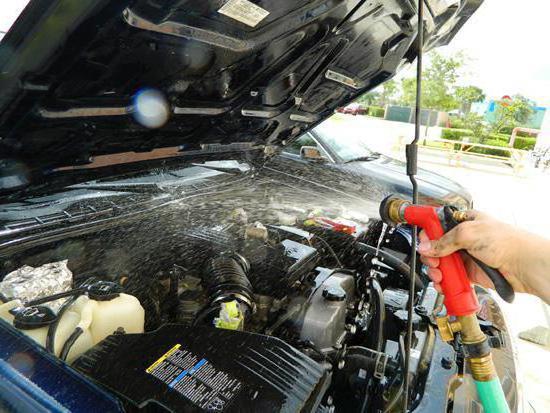 средства для мытья двигателя автомобиля