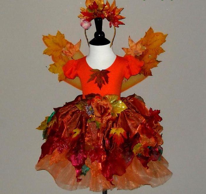 Осенний костюм на праздник осени своими руками фото 19