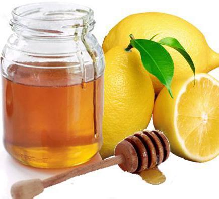 вода натощак с лимоном и мёдом