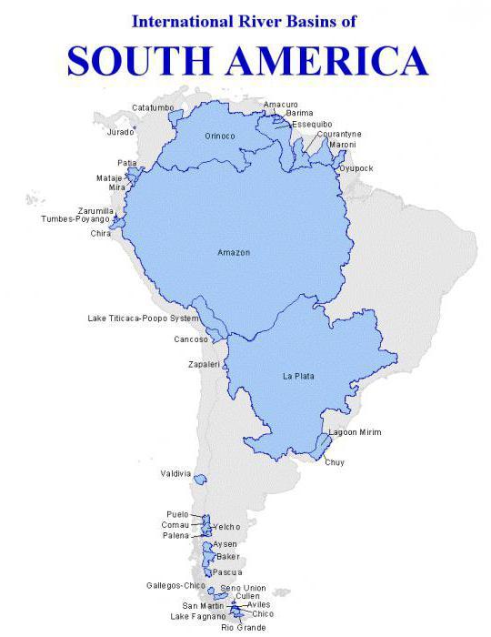 южная америка самый влажный материк земли
