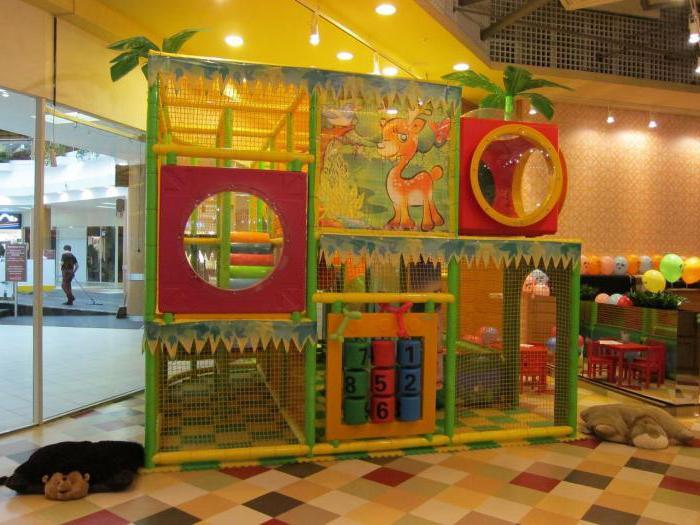 кафе для детей с детской комнатой