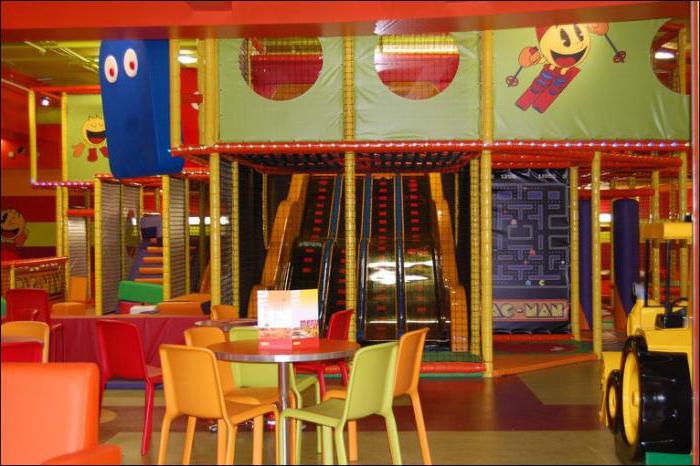 кафе с детскими комнатами