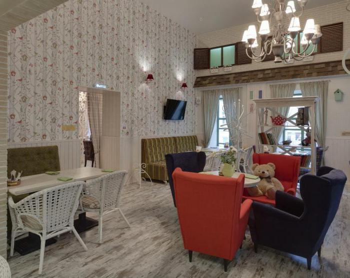 кафе с детскими комнатами в москве