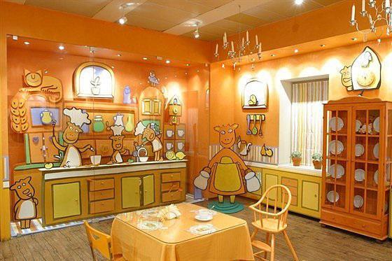 семейные кафе с детской комнатой